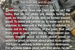 The Lord is seeking builders