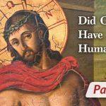 jesus fallen human nature