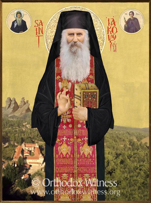 Saint Iakovos Tsalikis Icon
